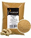 Minotaur Spices | Ingwer gemahlen, Ingwerpulver Ginger mild, 2 X 500g (1 Kg)