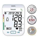 Beurer BM 77 Oberarm-Blutdruckmessgerät, mit patentiertem Ruheindikator, App-Anbindung mit zertifiziertem Datenschutz, auch für Schwangere geeignet